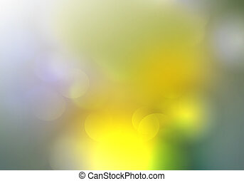 blurred spring background