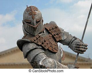 Warrior Armour, Verona, Italy, 2004 - A powerful armour...