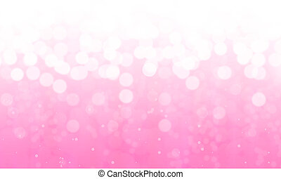 Abstract backgrounds , Illustration white Bokeh on pink...