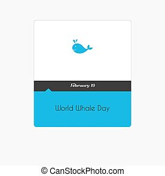 Calendar date on a white background