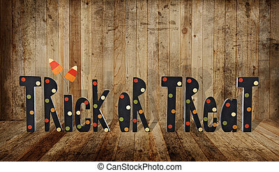 Trick or treat - Halloween trick or treat