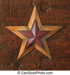 Antique Christmas star
