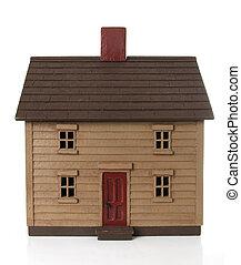 House model - Shaker style house model.