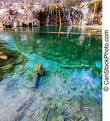 Hanging Lake - Amazing Hanging Lake near Glenwood Springs,...