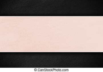Pastel paper on dark background