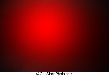 red gradient orb on papaper texture