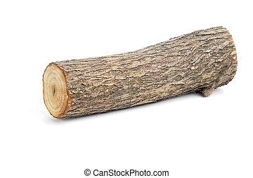 fűzfa, fahasáb, elszigetelt,