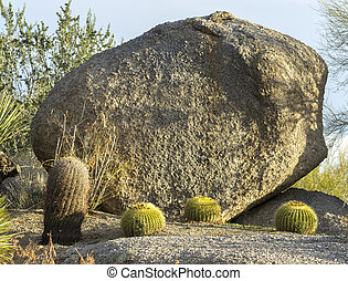 Giant boulder.