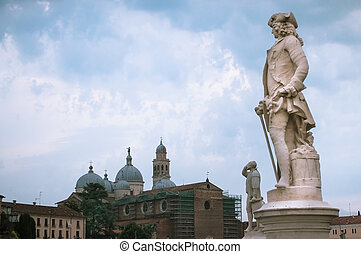 Padua is a city and comune in the Veneto, northern Italy.