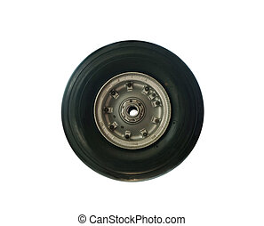 wheel isolated on white (clipping path)