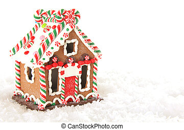 Gingerbread house - Christmas gingerbread house