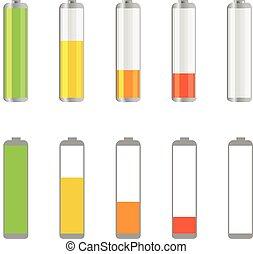 Different accumulator design elements