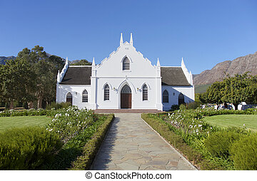Franschhoek, Cape Town, South Africa - Cape Town, South...