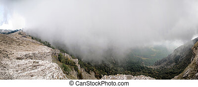 Ay Petri mountain of Crimea - Summer mountain landscape...