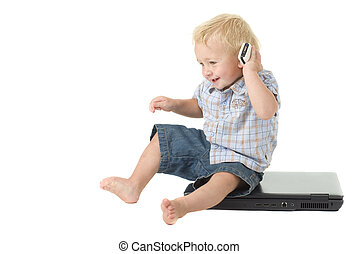 Toddler Computer Literacy - Technology at a young age