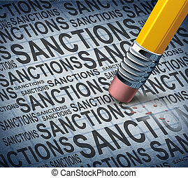 Removing Sanctions - Removing sanctions lifting economic...