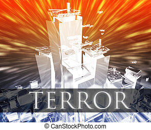 Terror terrorism - Terrorist terror attack Al Queda...