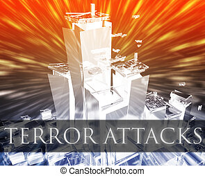 Terror attack - Terrorist terror attack Al Queda terrorism...
