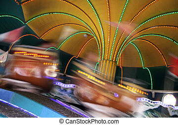 motion in a carousel