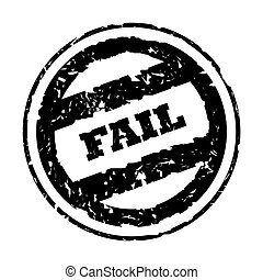 Used fail stamp