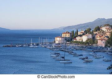 Medieval village in Kvarner Croatia - Mediterranean Medieval...