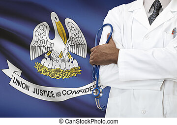 Concept of national healthcare system - Louisiana