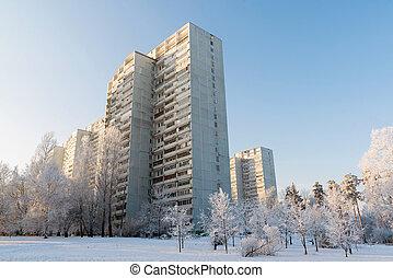 Villes russes couvrant presque la