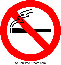 No Smoking Weed - No cannabis sign isolated over white...