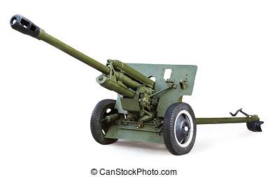 Soviet anti-tank 76 mm gun of the Second World War, ZIS-3...