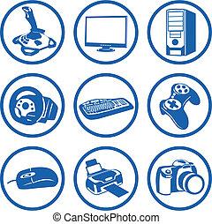 Pictogrammes, electrónica