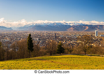Turin from above, different perspective - A personal...