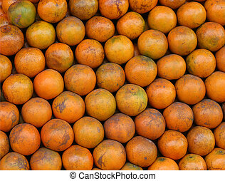 Orange stack on the market for sale