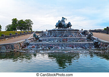 Gefion Fountain in Copenhagen Gefion Fountain is near St...