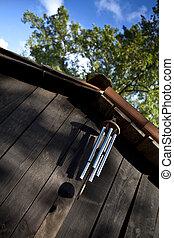 peal of bells Peal of bells - Japanese peal of bells on a...