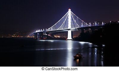 New San Francisco-Oakland Bay Bridge - New span of the San...