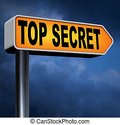 top secret file confidential and classified secrecy...