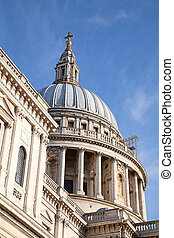 St Paul church - Famous St Paul church in London