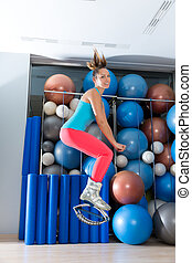 Kangoo Jumps Anti Gravity fitness boots girl - Kangaroo...
