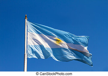 Flattering Argentinian Flag - A flattering argentinian flag...