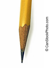 Recently sharpned yellow pencil