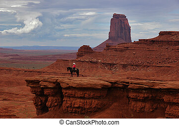The Watchman - Taken in Monument Valley