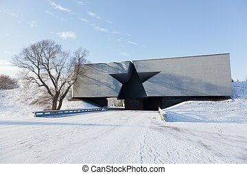 Central entrance to the Brest fortress, Belarus