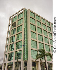 Modern Style Building Low Angle View - Low angle view of a...