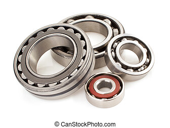 bearings tool on white background - bearings tool isolated...