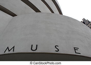 NEW YORK - SEPTEMBER 01: The Solomon R. Guggenheim Museum of...