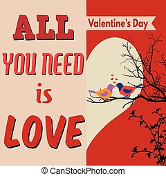 All you need is love poster design - All you need is love...