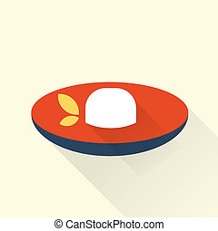Rice icon - Vector rice icons flat simple style illustration