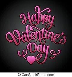Happy Valentine's Day Vintage Card