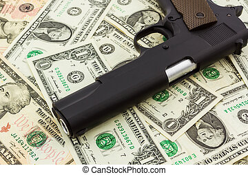 Money with Gun.