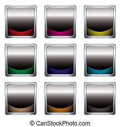 criss cross icon - collection of nine icons with criss cross...